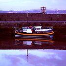 wee orange stripey boat ... by SNAPPYDAVE