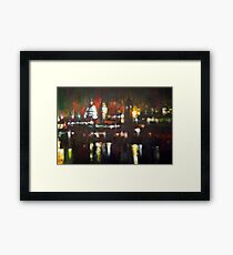 London Skyline Abstract Realism 2008 Framed Print