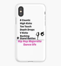 Hip Hop Majorette Life  iPhone Case/Skin