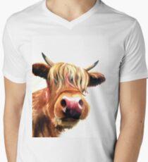 Nosy Coo Men's V-Neck T-Shirt