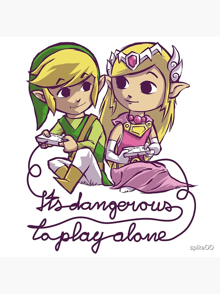 it's dangerous to play alone by spike00