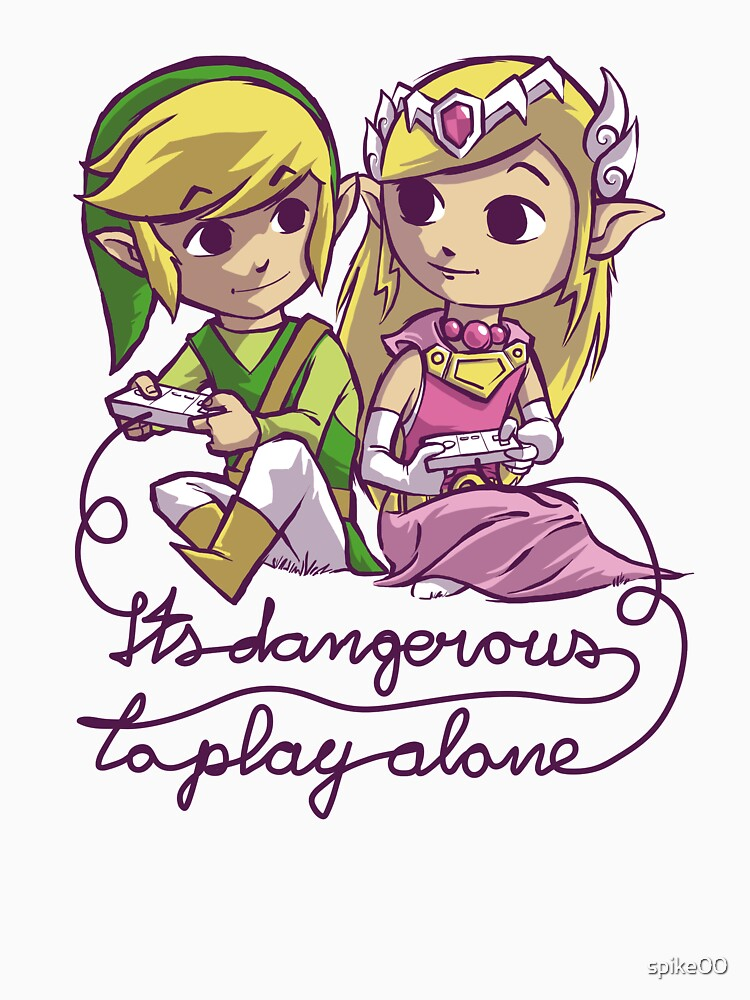 it's dangerous to play alone | Unisex T-Shirt