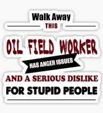 fuel oil field worker costume gift t shirt sticker
