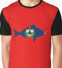Camiseta gráfica Vermont Fisherman