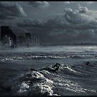 Aproaching storm over Tel Aviv by JudyBJ