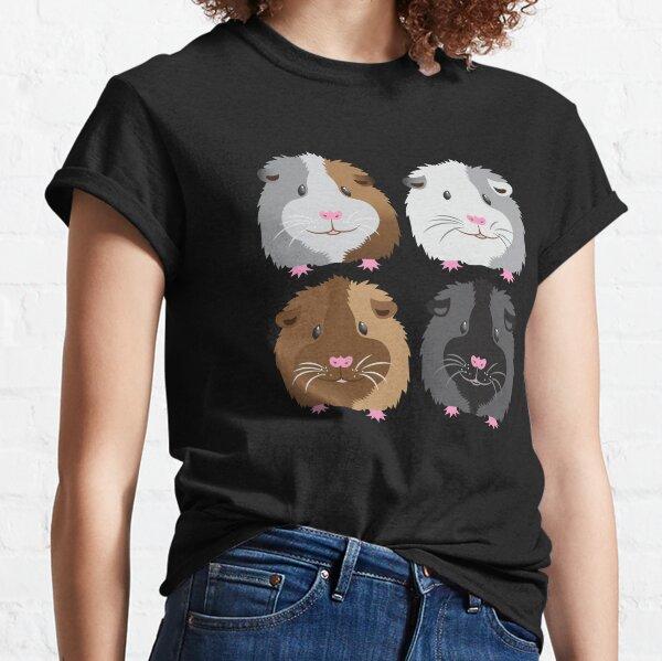 Four piggies (guinea pigs) Classic T-Shirt