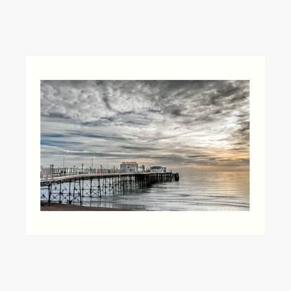 Worthing pier Art Print