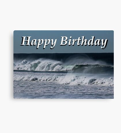 Wishes With Waves Canvas Print