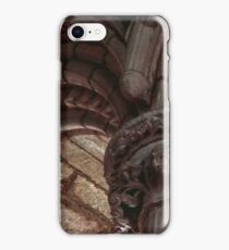 Capitals and arches Window arches in wall of church Lanercost Priory Cumbria England 19840526 0021   iPhone Case/Skin