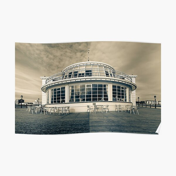 The end of the pier, Worthing Poster