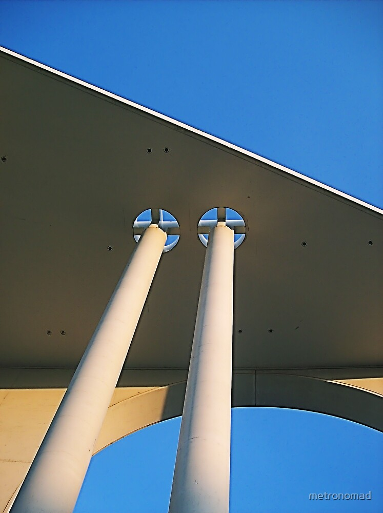 Architectural detail by metronomad