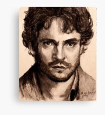 Hugh Dancy Canvas Print