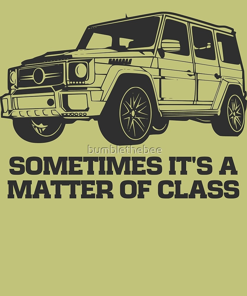 G Class 4X4 by bumblethebee