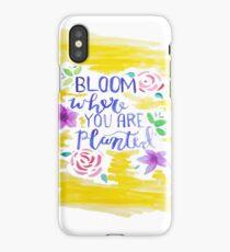 """Bloom"" Watercolor iPhone Case/Skin"