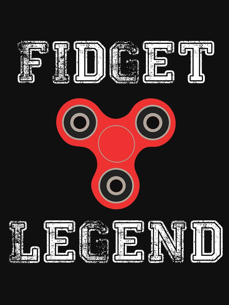 Fidget Legend Tee Shirt for Spinning Masters by OSRandolphGroup