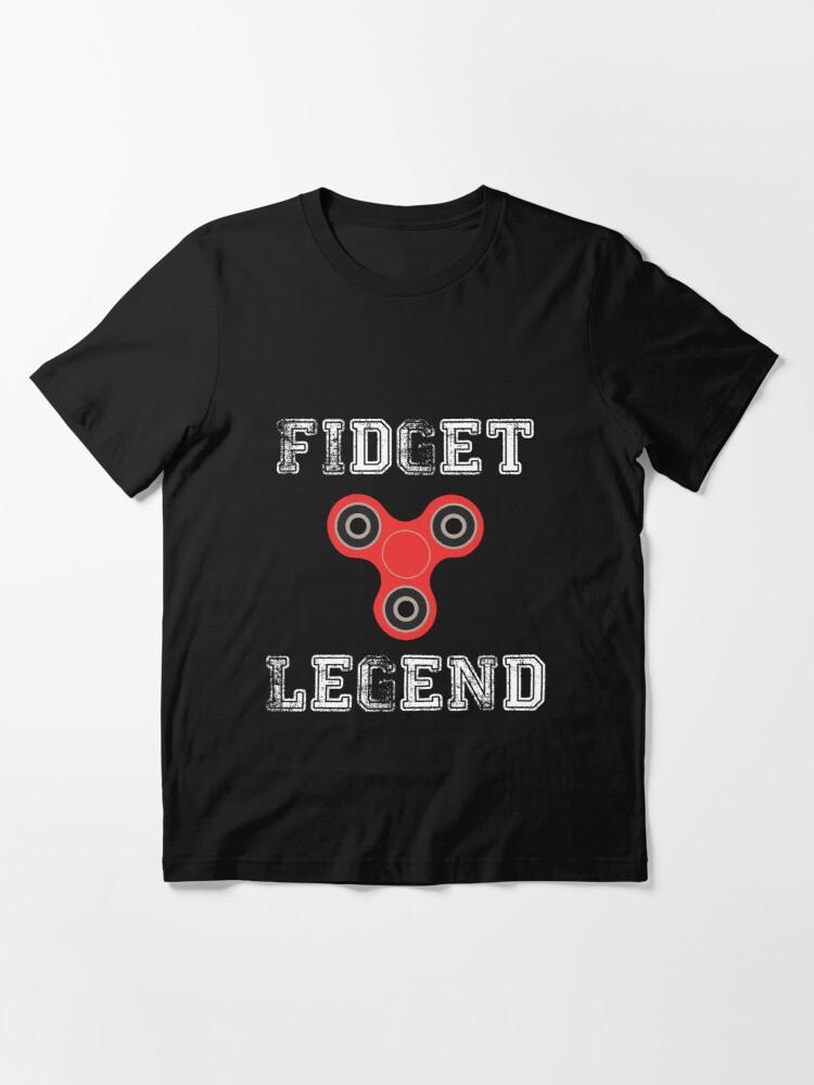 Alternate view of Fidget Legend Tee Shirt for Spinning Masters Essential T-Shirt