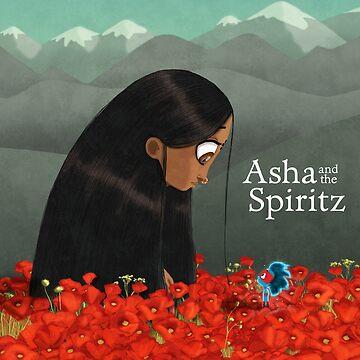 Asha and the Spiritz - Meeting Bhayankara by tallncurly