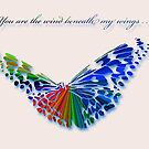 Wind Beneath my Wings . . . by Bonnie T.  Barry