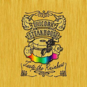 Unicorn Steakhouse - Taste the Rainbow by BloodyMarvelous