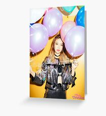sooyoung snsd Greeting Card