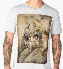 Fantasy Orc Necromancer Men's Premium T-Shirt