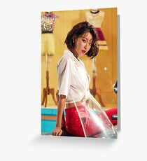 SNSD Sooyoung Greeting Card