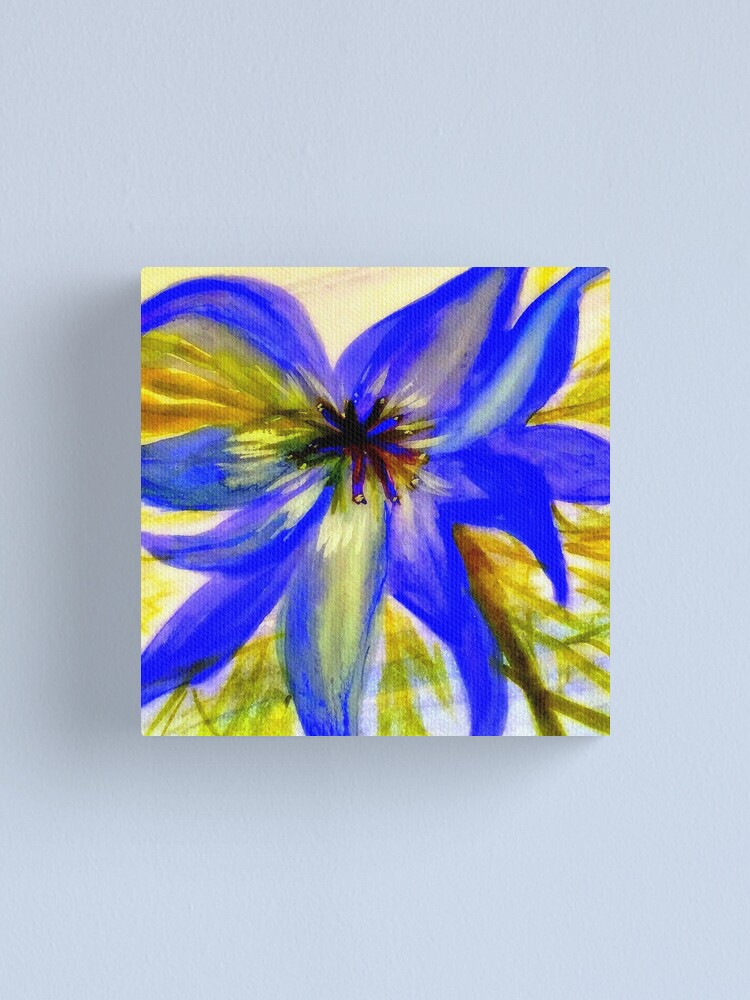 Alternate view of Love in a Mist Canvas Print