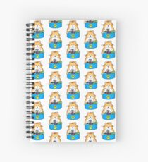 Iodine The Hungry Hamster Spiral Notebook