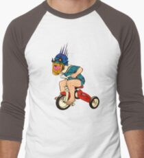 Demonic Trike Rider Men's Baseball ¾ T-Shirt