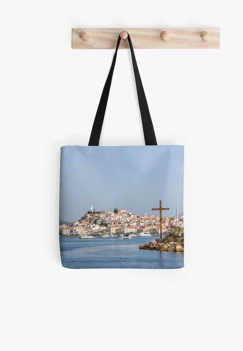 Poros From The Harbour by Nancy Alford