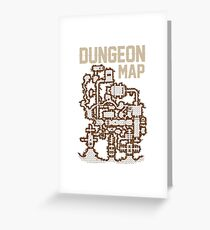 Dungeon Roleplaying T-Shirt Greeting Card
