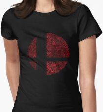 Smashing (-|--) Womens Fitted T-Shirt