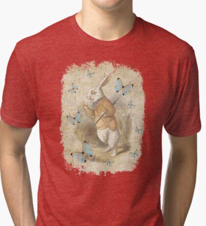 Conejo blanco - Alicia en el país de las maravillas Camiseta de tejido mixto