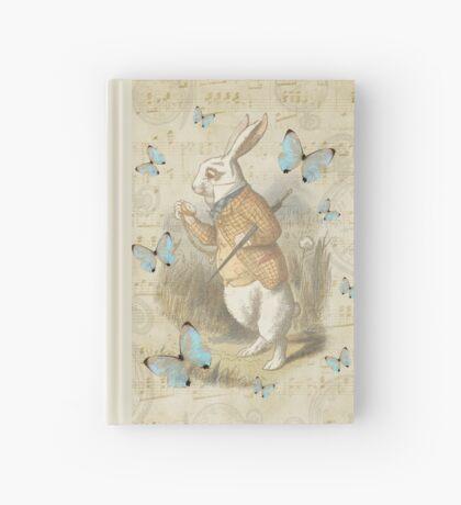 Conejo blanco - Alicia en el país de las maravillas Cuaderno de tapa dura