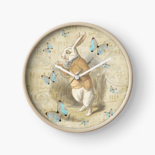 White Rabbit - Alice In Wonderland Clock