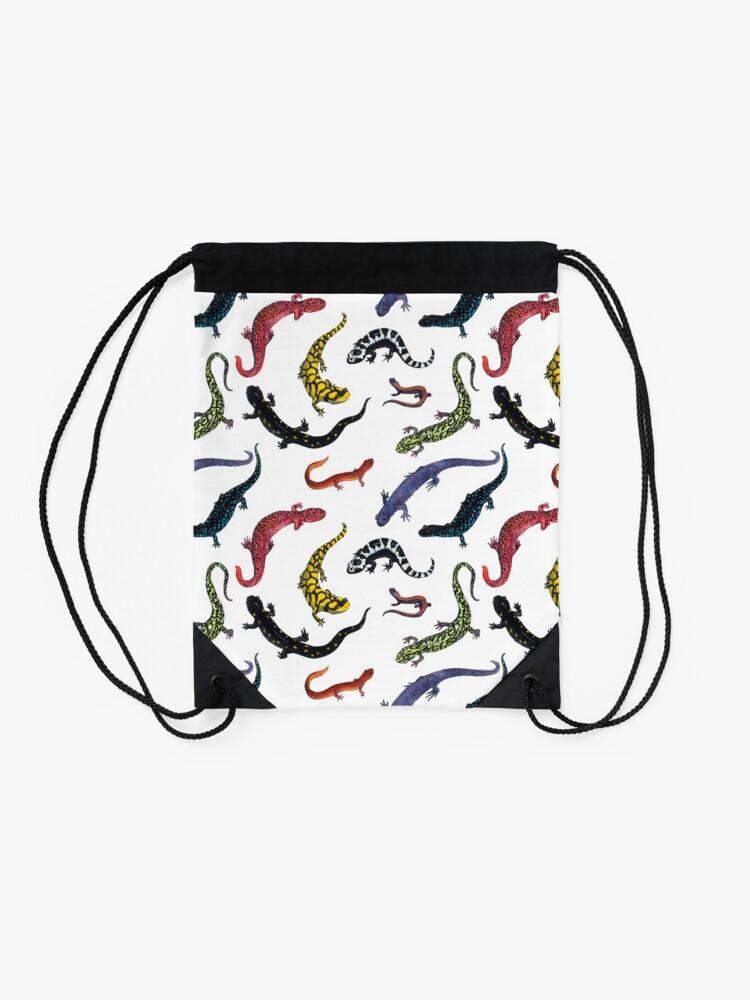 Alternate view of Salamanders Drawstring Bag