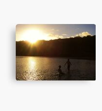 Gonubie River, East London, South Africa Canvas Print