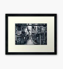 Cartoon Framed Print