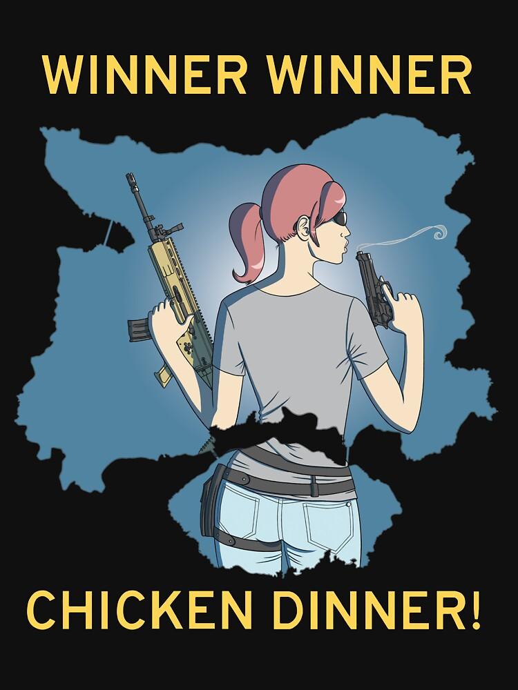 Winner Winner Chicken Dinner! Playerunknown's Battlegrounds PUBG by pennypentan