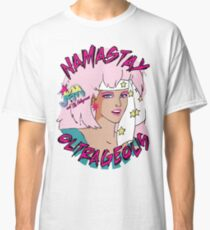 Namastay in Bed Outrageous Jem and the Holograms 80's Classic T-Shirt