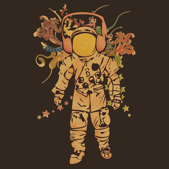 TShirtGifter presents: Vintage Spaceman