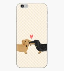 Dackel Liebe iPhone-Hülle & Cover