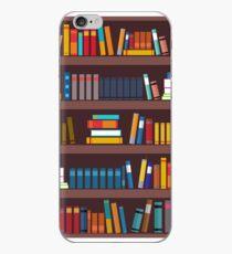 Book pattern iPhone Case