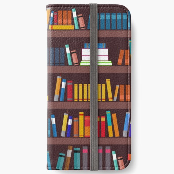 Book pattern iPhone Wallet