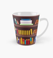 Book pattern Tall Mug