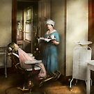 Dentist - Patient's is a virtue 1920 by Michael Savad