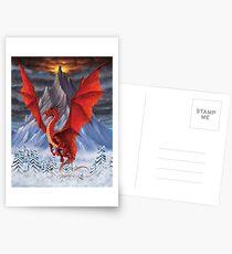 EVIL RED DRAGON Postcards