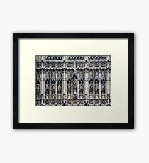 Palace of Westminster Detail #2 Framed Print