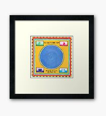 Talking Heads Speaking in tounges Framed Print