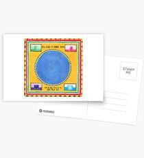Talking Heads In Zungen sprechen Postkarten